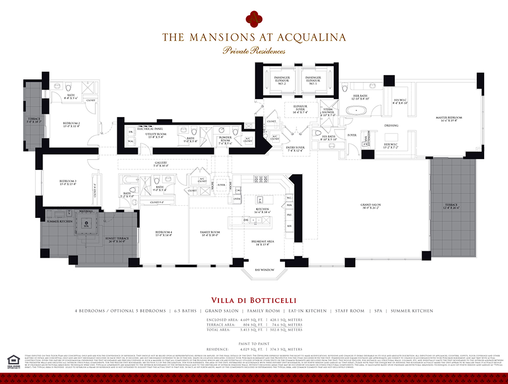 Miami Luxury Condos | Luxury Real Estate In Miami | Mansion Floorplans